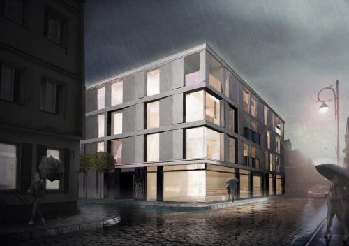 Budynek Mieszkalno – Usługowy przy ul. Wesołej w Kielcach